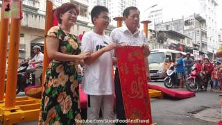 Vietnam Travel - Lion Dance - Happy Lunar New Year 2017 - Mua Lan Cho Lon