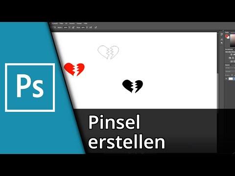 Adobe Photoshop Tutorial | Eigene Pinsel erstellen [Deutsch/HD] thumbnail