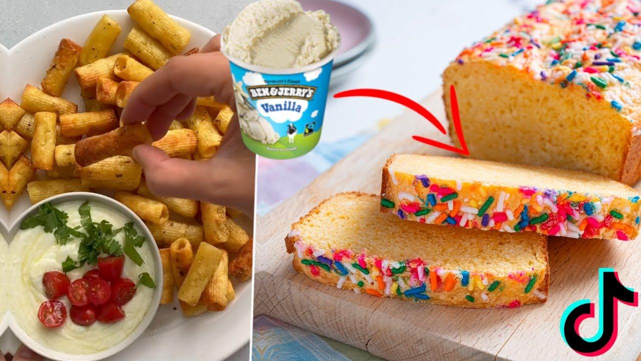 I Tested The MOST Viral Tiktoks- Pasta Chips, Ice Cream Bread, Ramen Egg Mayo Hack