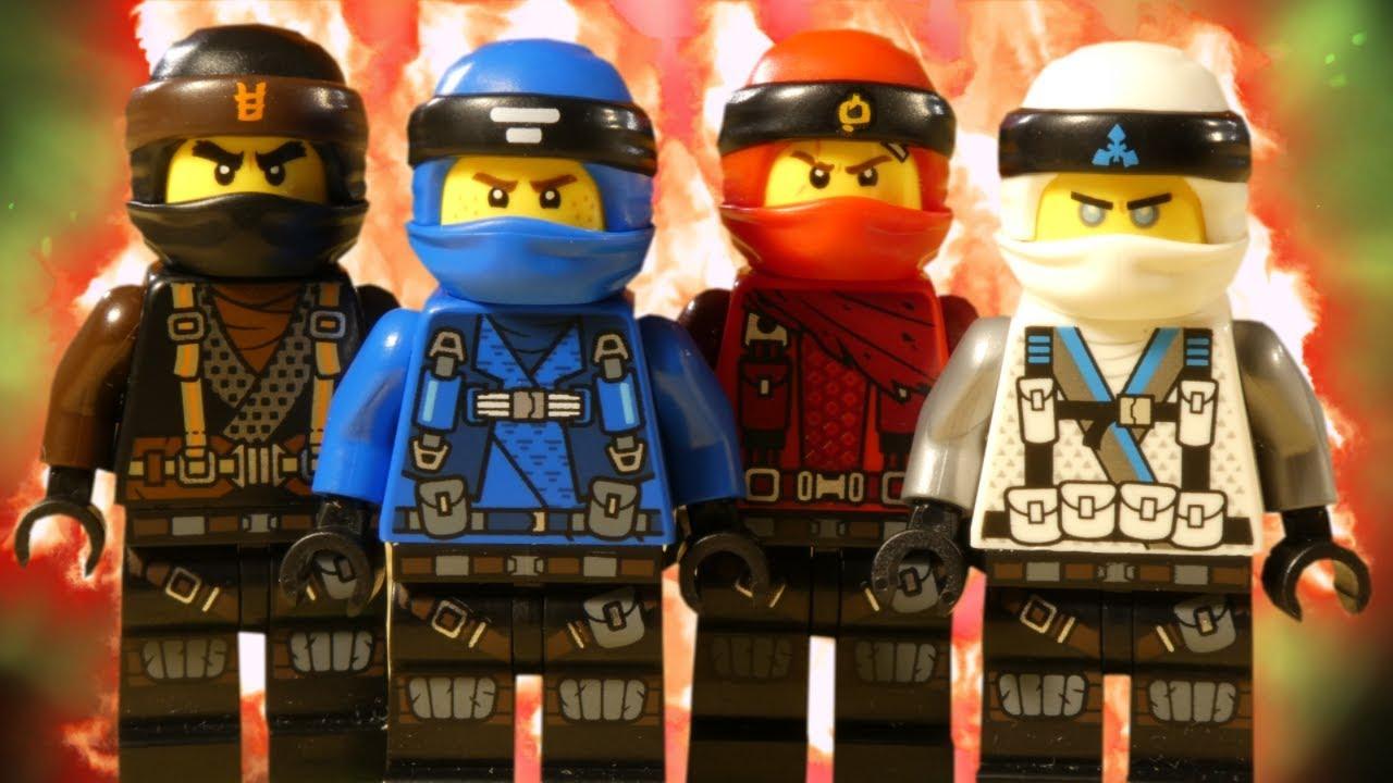 LEGO NINJAGO HUNTED - DRAGON MASTER NINJA BATTLE