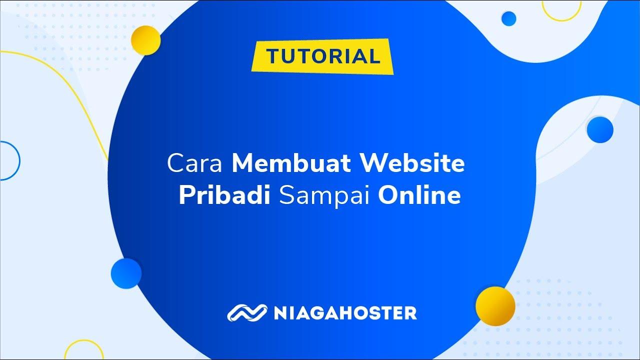 cara membuat website pribadi sampai online
