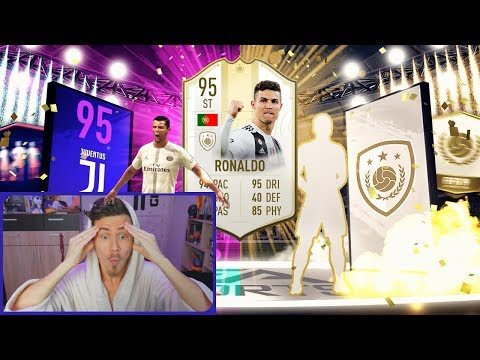 КУМИР + КРИШТИАНУ РОНАЛДУ В ПАКЕ || ICON IN A PACK || RONALDO IN A PACK