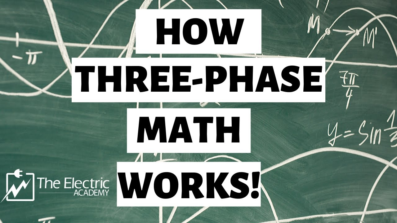 how the 3 phase math works 277 277 480 youtube phase power diagram further 208 volt 3 phase circuit as well 3 phase [ 1280 x 720 Pixel ]