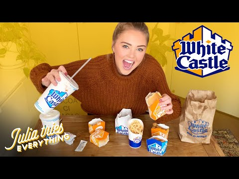 Trying ALL Of The Most Popular Menu Items At White Castle