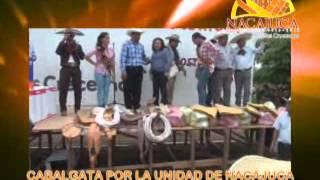 Cabalgata por La Unidad de Nacajuca 2013