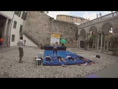 Video drone Euro Wellness parade 2014
