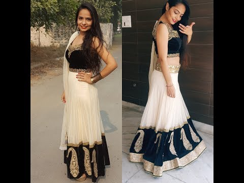 HOW TO REUSE & REDESIGN OLD ANARKALI