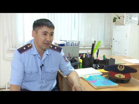 Лучший участковый Костанайской области служит в пункте полиции «Молодежный»