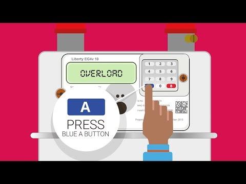Smart Meter In-Home Display - Overload