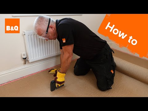 How to fit carpet part 1: grippers & underlay - YouTube