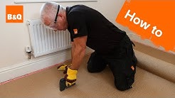 How to fit carpet part 1: grippers & underlay