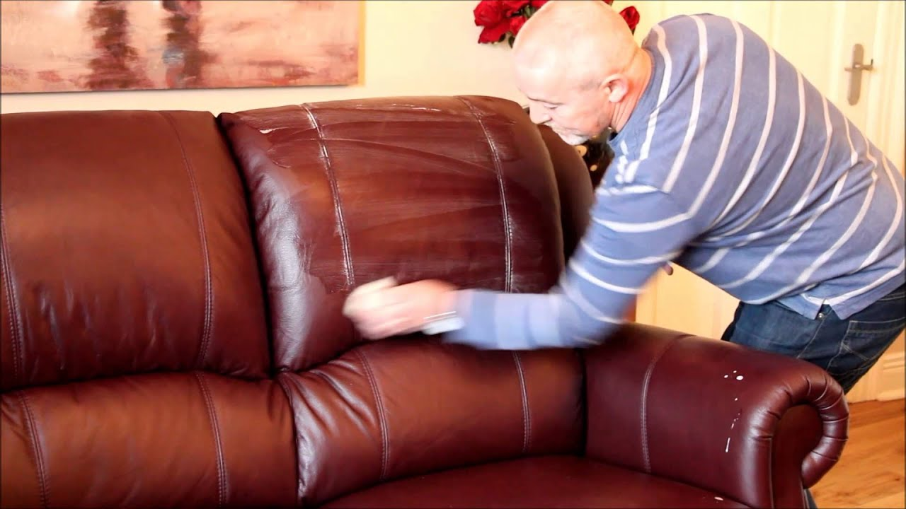 Caring For A Leather Sofa