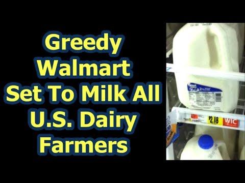 Walmart Destroying American Milk And Dairy Farming