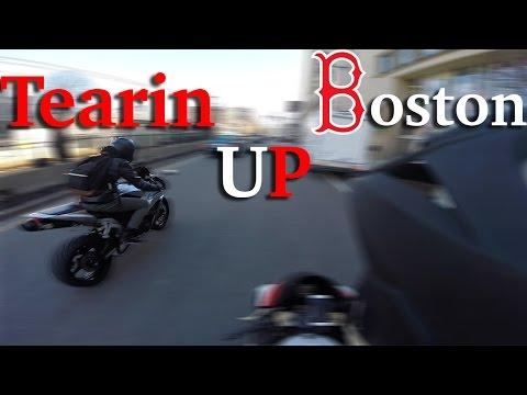 Downtown Boston Adventure | Riding Season Already?
