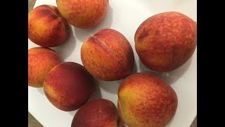 How to Peel Peaches - the Quickest, Easiest Way to Peel a Peach