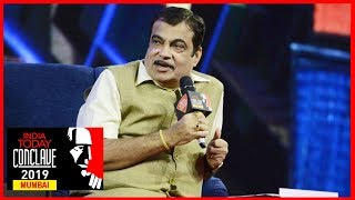 Nitin Gadkari Exclusive : India On Right Track, Will Become $5 Trillion Economy | #ConclaveMumbai19