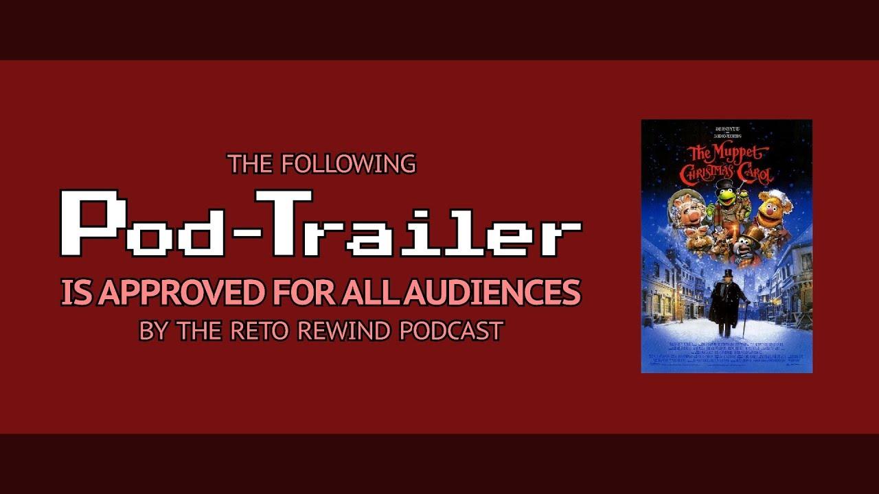 Pod-Trailer: The Muppet Christmas Carol RRP134 - YouTube