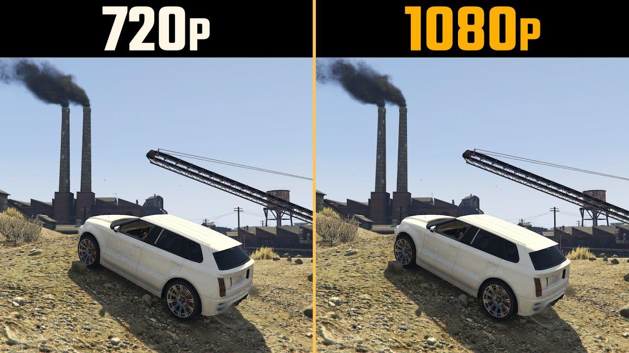 Download 720p vs. 1080p Gaming