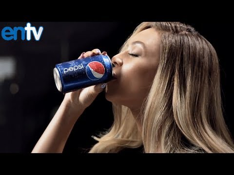 Beyonce Mirrors Pepsi Commercial Behind The Scenes - ENTV