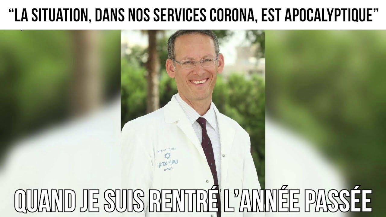 """""""La situation, dans nos services corona, est apocalyptique"""" - L'invité du 13 janvier 2021"""
