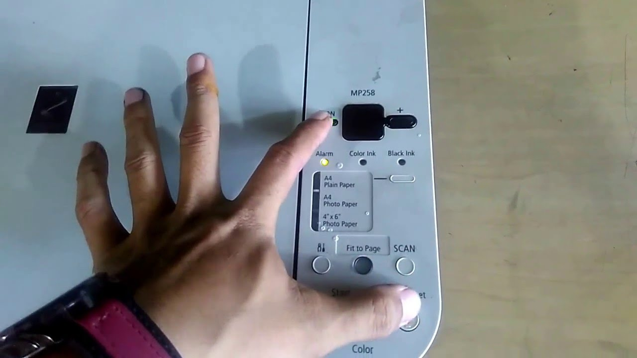How To Fix Error 5b00 Waste Ink Pad Counter Canon Mp258 Series