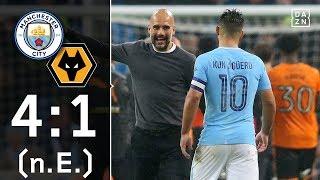 City muss lange zittern: Manchester City - Wolverhampton 4:1 n.E. | Highlights | League Cup | DAZN