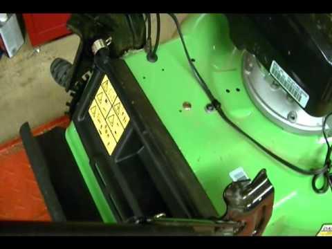 Small Engine Repair Lawn Boy Lawnmower Model Rear