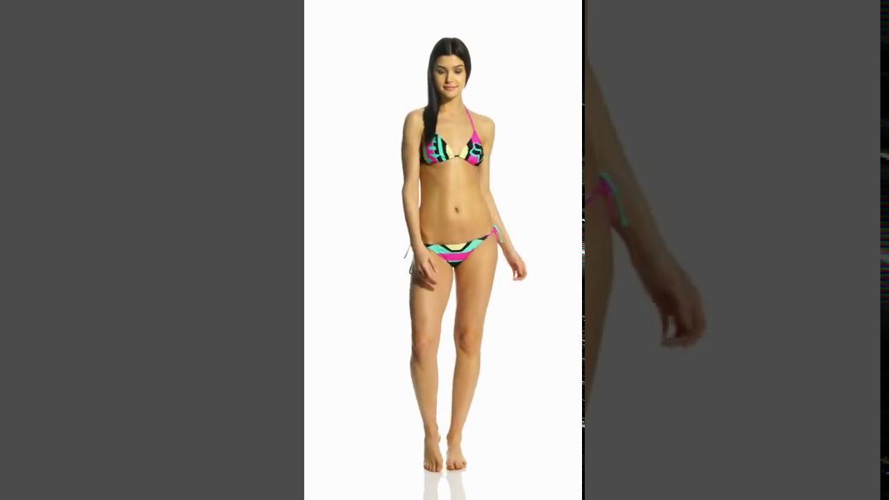 f6b0ccd313 FOX Stereo Triangle Bikini Top