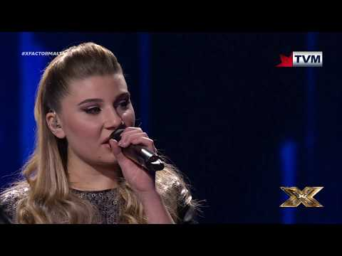 Michela Pace showing us she is a wonderful star | X Factor Malta | Live Show 3