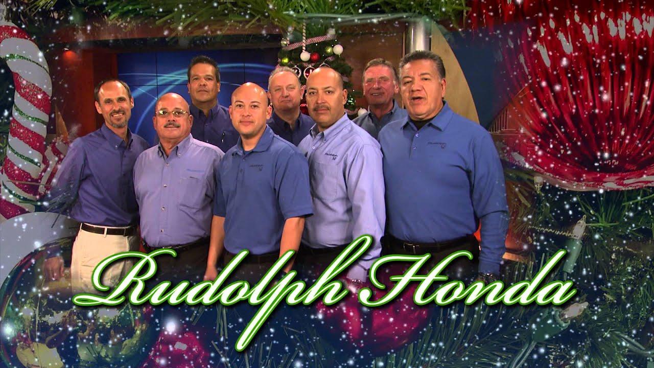 Rudolph Honda Christmas Greeting