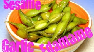 Sesame Garlic Edamame (soy Beans) With Cookingandcrafting