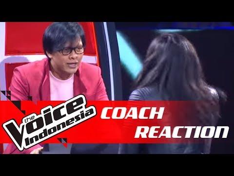 Ini Reaksi Ngerock Coach Armand Ketika Axl Tampil!   COACH REACTION   The Voice Indonesia GTV 2018