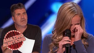 Evie Clair Gives EMOTIONAL Audition Singing For Her Dad   Amazing Auditions
