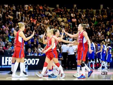 Ženska košarkaška reprezentacija Srbije 2015 - Roby R - Os Kos Los Jos (Radio Edit)