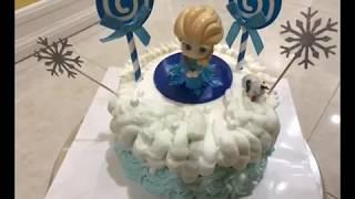 Birthday cake1/生日蛋糕1---爱莎公主,可爱篇