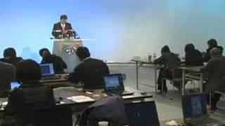 蕭萬長副總統辯論後記者會 一
