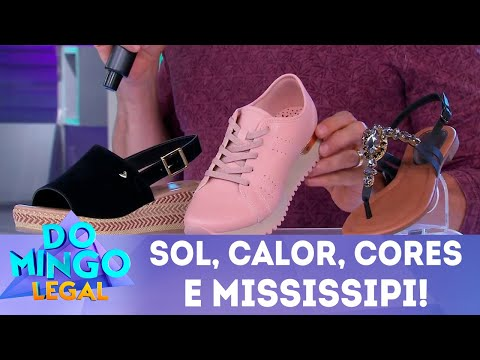 Sol, calor, cores e Mississipi! | Domingo Legal (02/09/2018)