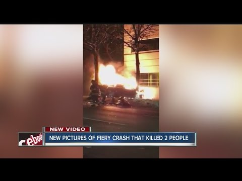 2 killed in fiery crash near downtown Indy