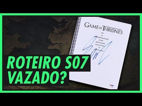 VAZOU O ROTEIRO DA TEMPORADA DE GAME OF THRONES? (SEM SPOILERS)