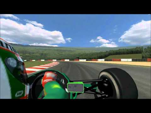 rFactor- Michael Schumacher Spa GP- Jordan 1991