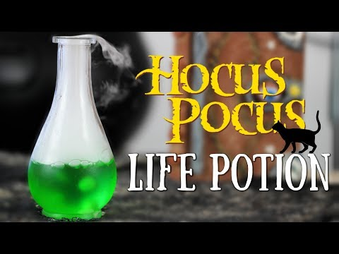 LIFE POTION RECIPE from Hocus Pocus | Fiction Food Friday