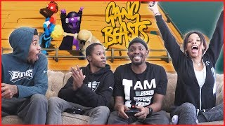 The ULTIMATE Finesse For The Win!... You Won't Believe This! - Gang Beasts Gameplay