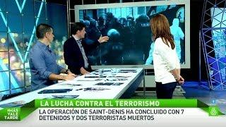 ¿Cómo actúan las fuerzas de seguridad ante una operación antiterrorista?