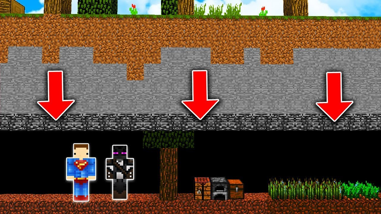 Minecraft pod ziemią – NIE UWIERZYSZ JAK TO WYGLĄDA! #1