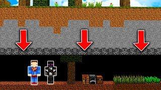 Minecraft pod ziemią - NIE UWIERZYSZ JAK TO WYGLĄDA! #1