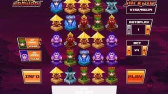 Pixel Samurai Test - Playtech New Jackpot Game