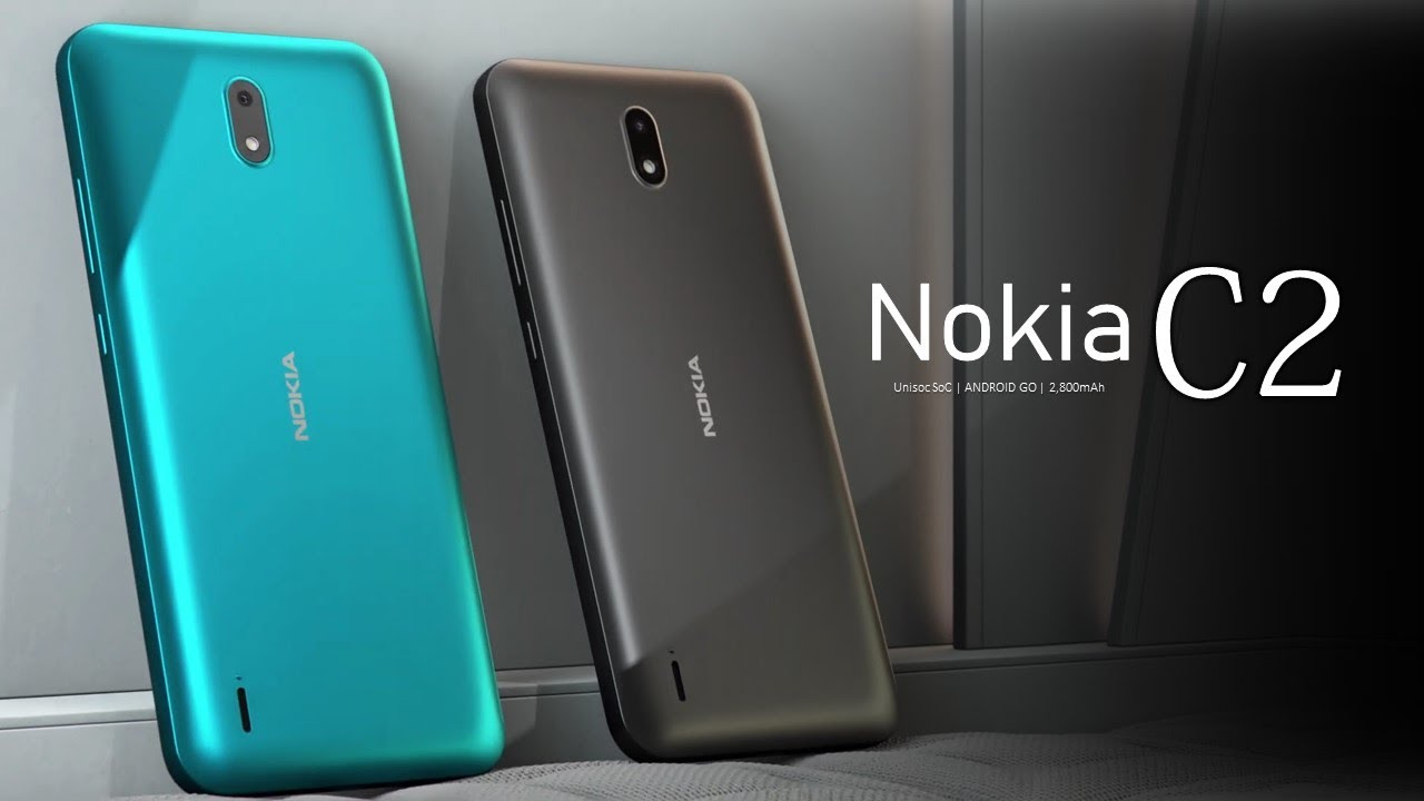 Nokia C2 Price, Official Look, Design, Specifications, Android Go, Camera, Features - YouTube