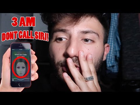 (SHE CALLED ME?!) DONT TALK TO SIRI AT 3 AM | THIS IS WHY!!