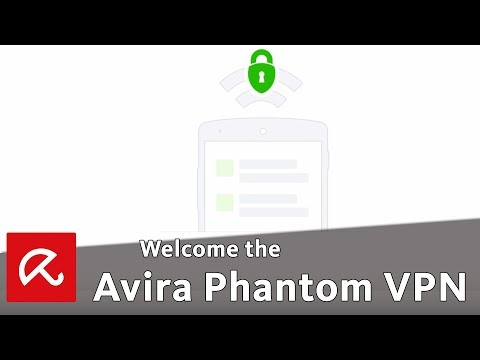 Welcome the Avira Phantom VPN