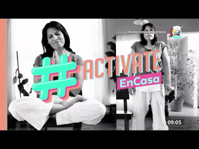 #ActivateEnCasa | Clases de yoga | 1/10/2020